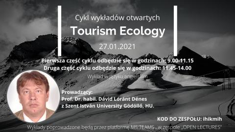 """wykład """"Tourism Ecology"""""""