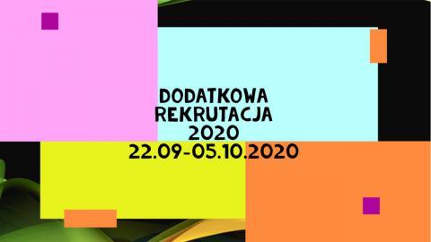 rekrutaacja wrzesień 2020