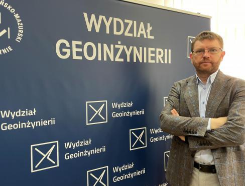 dziekan prof. Dariusz Popielarczyk