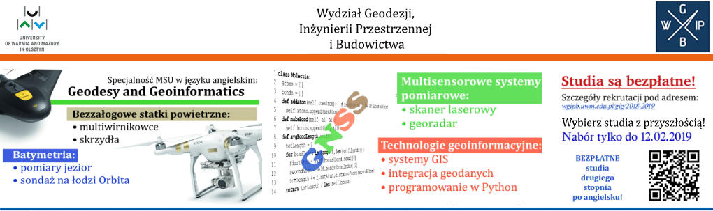 Geodesy and Geoinformatics